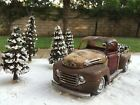 1950 Ford F100 Truck 1/24 Scale and Christmas Diorama