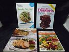Weight Watchers Dining Out Companion + Best Desserts PLUS 2 GREAT Cookbook LOT