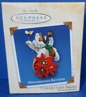 2002 Mischievous Kittens Hallmark Retired Series Ornament
