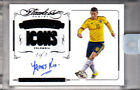 James Rodriguez 2015-16 Panini Flawless Soccer Black Icons Auto Real 1 1 Encased
