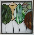 Stained Glass Window Panel Suncatcher Trees Parade