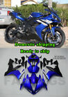 New Blue Black Injection ABS Plastic Fairing Fit for Yamaha 2004-2006 YZF R1 d04