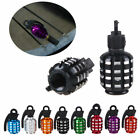 Pair Car Bike Grenade Aluminum auto wheel tyre tire air Valve Stems Cap 8 Colors