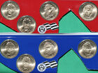 2010 Presidential Dollar UNC Coins 8 Satin P and D US Mint Set Blister Pack 1