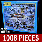 Charles Wysocki - Toying With Dinner - 1000 Piece Puzzle Americana Ship Food Ice