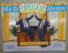 BILL & AL'S EXCELLENT ADVENTURE - CLINTON & GORE PAPER DOLL BOOK - 1994 #NM229