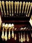 66 Piece Gold-Colored Cutlery Set for 12 People with 6 Utensils - From Mecca