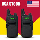 2PCS Newest MINI-handheld walkie talkie WLN UHF400-470 MHz  2-way Amature Radio
