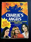 Topps CHARLIE'S ANGELS Full WAX BOX with 36 Unopened Pack 2nd Series 1977