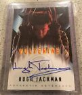 2000 Topps X-Men The Movie Hugh Jackman Autograph Wolverine Rare Signed Card
