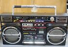 Vintage Lasonic TRC 975 Boombox Radio Ghetto Blaster Right Out of a Time Capsule