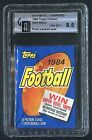 1984 TOPPS FOOTBALL UNOPENED WAX PACK GAI-8.5-(NM-MT+)-LABELED(FROM SEALED CASE)