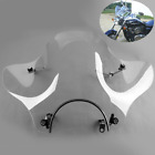 Clear Windshield For Kawasaki Cruiser Vulcan VN 500 750 800 900 1500 1600 2000