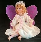 Porcelain Butterfly Fairy Diamond Tear Drop Doll
