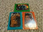 SET OF 3 NEW COLLECTIBLE 1983 STAR WARS STICKER CARDS #13, 29, 32 TOPPS