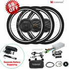 Voilamart Electric Bicycle E Bike 26 Front Rear Wheel Motor Conversion Kit