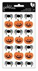 Pebbles BOO Collection Puffy Stickers PUMPKINS  SPIDERS Halloween