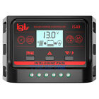 10 20 30APWM LCD Dual USB Solar Panel Battery Regulator Charge Controller 12 24V