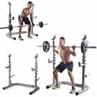 Golds Gym Workout Squat Rack Bench Power Weight Stand Lifting Home Training
