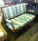 Antique Carved Settee,French Settee, Entry Seat,Loveseat, Upholstered Bench 370A