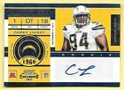 2011 Playoff Contenders #121 Corey Liuget Autograph RC