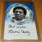 Unstoppable The Man Who Fell To Earth BERNIE CASEY autograph Best Wishes RARE SP