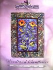 Woodland Sunflower Quilt Wall Hanging Pattern Petals of my Heart McKenna Ryan