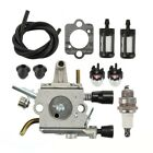 Carburetor GASKET primer bulb Tune up kit for Stihl FS120 FS200 FS250 Carb New