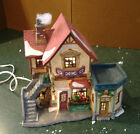 HEARTLAND VALLEY VILLAGE LIGHTED NANNETTE'S MILLINERY PORCELAIN HOUSE