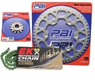PBI MRD Green 11-51 Chain/Sprocket Kit for Honda XR200R 1986-1991