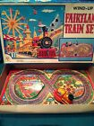 Vintage wind up Fairyland Train Set - made in Japan - Original box