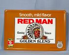 RED MAN GOLDEN BLEND CHEWING TOBACCO METAL SIGN 1996 12 x 18