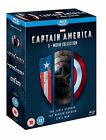 CAPTAIN AMERICA 1 3 Movie Collection Blu ray Box Set Marvel Trilogy 1 2 3