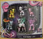 MY LITTLE PONY FRIENDSHIP IS MAGIC PONYMANIA COLLECTION SET OF 6 FIGURES NEW