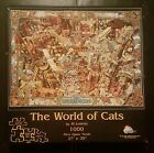 The World of Cats 1000 piece Jigsaw by Al Lorenz