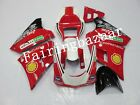 Fit for Ducati 748/996 1996-2002 Red White ABS Injection Bodywork Fairing Kit