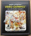 Nolan Bushnell Atari Founder signed Atari Cartridge Video Olympics PSA/DNA RARE
