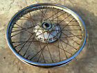 Honda MT250 Elsinore Front Wheel    , 1974-76 Used Item in good condition