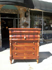 Outstanding English Mahogany Chest On Frame 19th Century