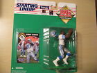 Starting Lineup Figure - Barry Sanders - Detriot Lions -1995 w/ Collector Card