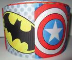 Grosgrain Avengers Characters Superhero 3 Inch Ribbon For Hair Bows Crafts