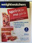 Weight Watchers Sprinkle Me Pink Mini Bars