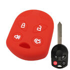 4 Button Fit For Ford Focus Escape Fusion Silicone Key Cover Fob Remote Case