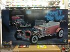 Revell 85-2622 1/8 Scale Ford T Big Tub 2 n 1 Model Kit Hot Rod V8 Triple Carbs
