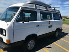 1984 Volkswagen Bus Vanagon Campmobile Van Camper 3 Door 1984 Volkswagen Vanagon Westfalia Camper Westy Fully Restored