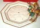 FITZ AND FLOYD GREGORIAN CANAPE PLATE - NEW IN BOX