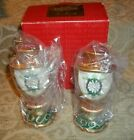 ~ NEW IN BOX~  FITZ & FLOYD CLASSICS CHRISTMAS COURT SALT & PEPPER SET