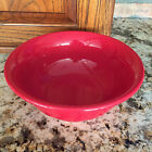 Fiesta  Scarlet Red Contemporary 9 3/8 icnhes Mixing Bowl