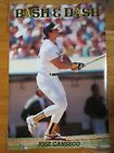 1990 Costacos Brothers JOSE CANSECO No. 33 OAKLAND A'S