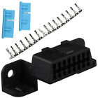 Obd2 Universal Case 16 Pin Terminal Connector Plug Shell Adapter Diagnostic Tool